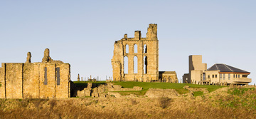 Tynemouth Priory and castle