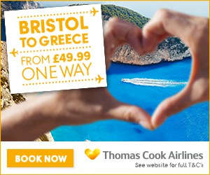 Bristol to Greece with Thomas Cook Airlines