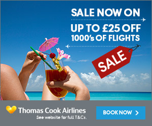 Thomas Cook Airlines Sale Now On