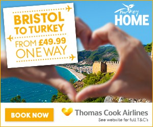 Bristol to Turkey with Thomas Cook Airlines