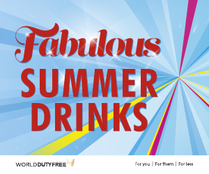 World Duty Free Summer Drinks