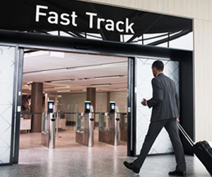 Fast Track Security at Bristol Airport
