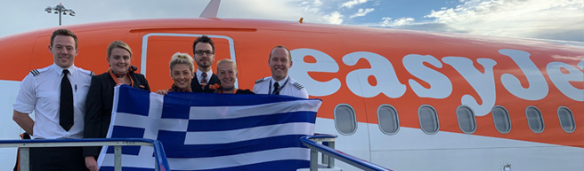 easyJet launches first flights to Montpellier and Rhodes as first of new Summer routes take off from Bristol Airport
