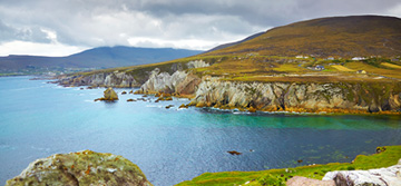 Coast of achill island