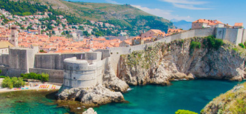 Dubrovnik walled city