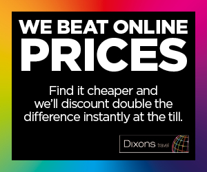 Dixons Travel at Bristol Airport