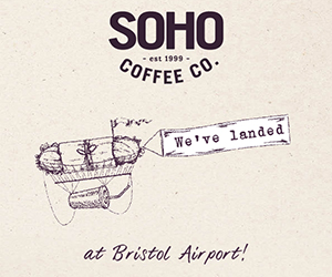 SOHO Coffee Co. now open at Bristol Airport