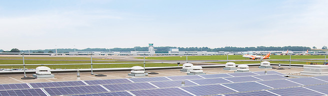 Renewable resources at Bristol Airport
