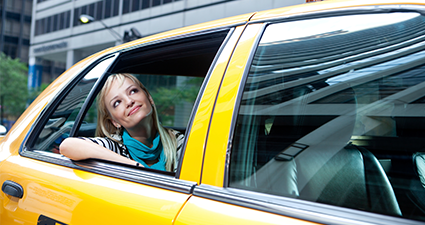 Quick and reliable transport to and from your destination with Holiday Taxis