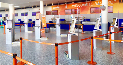 easyJet Bag Drop Image