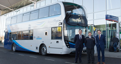 New look airport buses join the fleet
