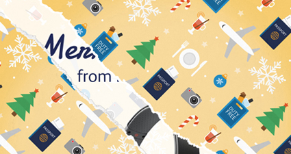 Bristol Airport 12 Days of Christmas Campaign