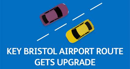 Key Bristol Airport route gets upgrade