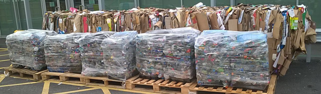 Recycling figures at the airport have grown from 17% to 47% during the duration of the partnership