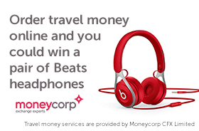 Win a pair of Beats headphones with Moneycorp